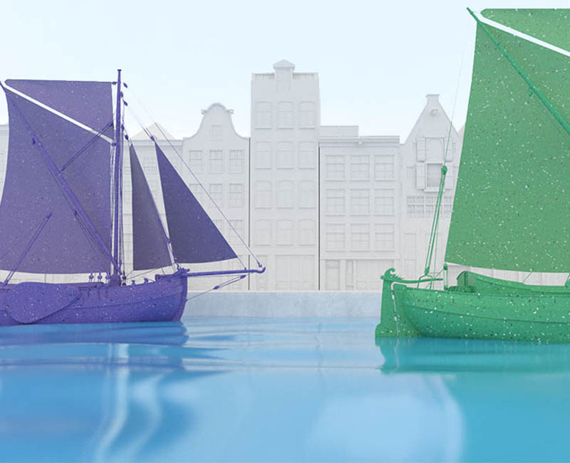 animatie Citybarge Rotterdam